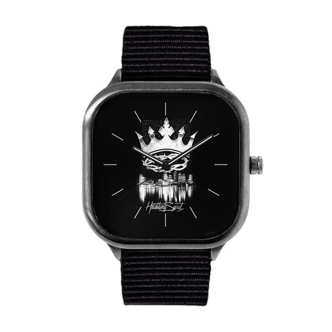 Black Crown Watch
