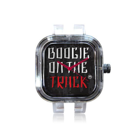 Boogie Blk on Red Track Watch