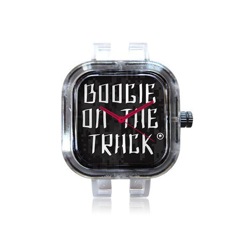Boogie Red on Blk Watch