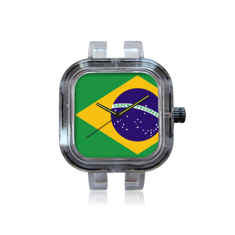 Brazilian Flag Watch
