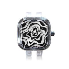 Charma Rose Doodled Rose and Vine Watch