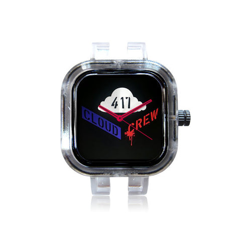 Red & Blue Crew 417 Watch