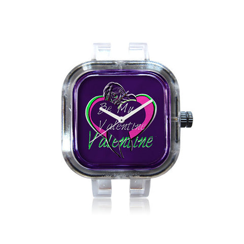 Colbe Jam Purple Valentine Watch