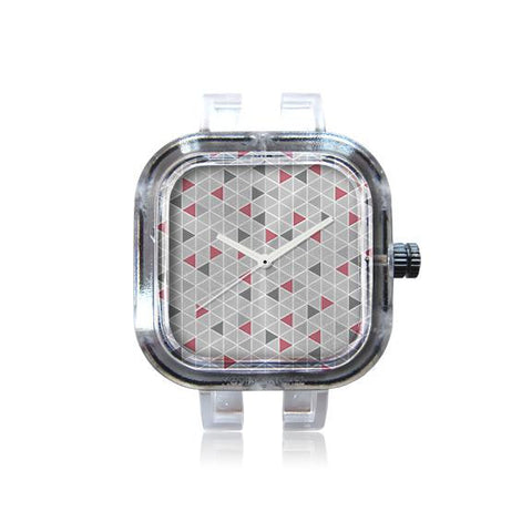 Crimson Triangles Watch