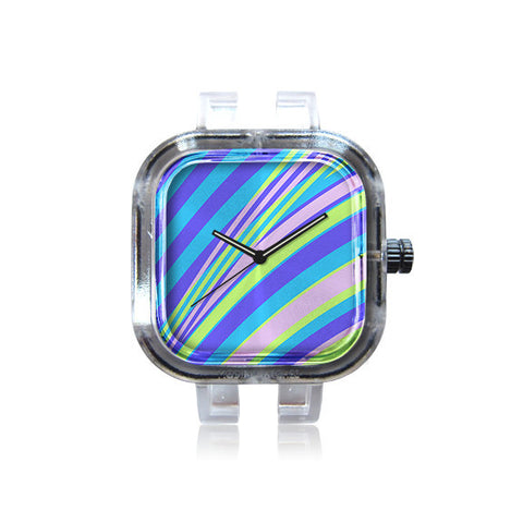 Dawid Roc Riviera Stripe Pattern Watch