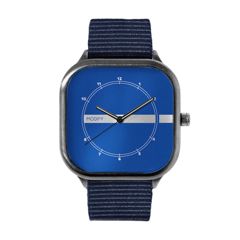 Deep Blue Watch