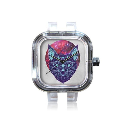 Art of Dikshant Kumar Space Cat Watch