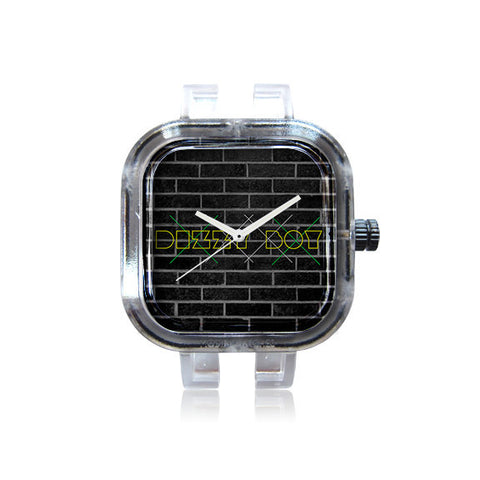 Dizzy Sq Brick Scratch Watch