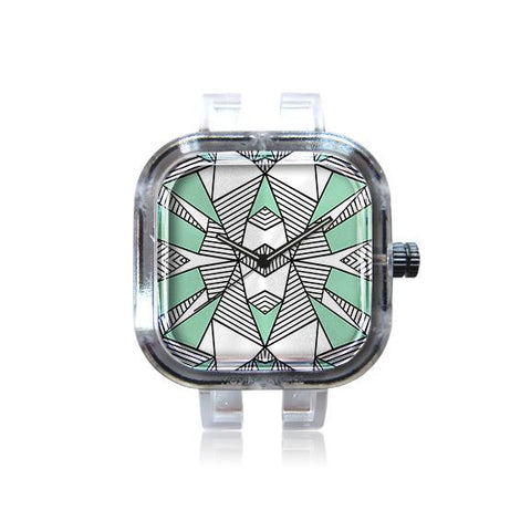 Tribal Mint Watch