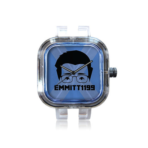 Emmitt1199 Blue Face Watch