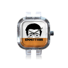 Emmitt1199 Emmitt Orange Band Watch