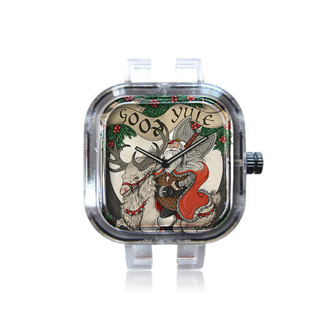 Flying Viper Illustration Christmas Card Watch
