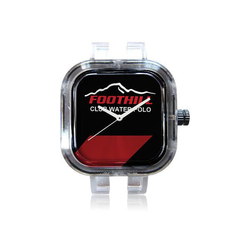 Foothill Club Water Polo Black Stripe Watch