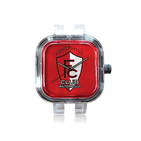 Foothill Club Water Polo Red Crest Watch