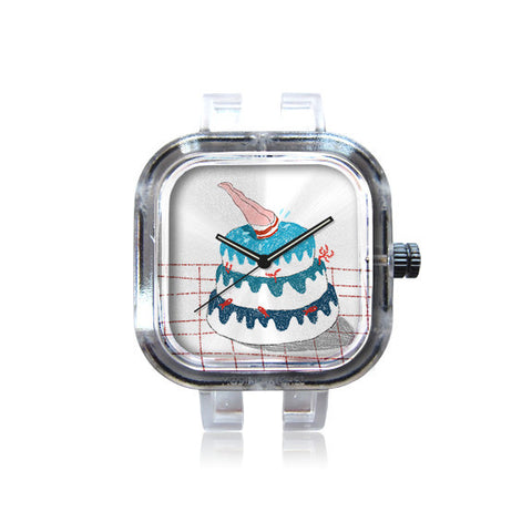 Francesca Costa Swimming Cake Watch