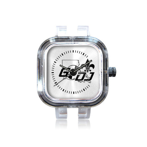 godj logo watch