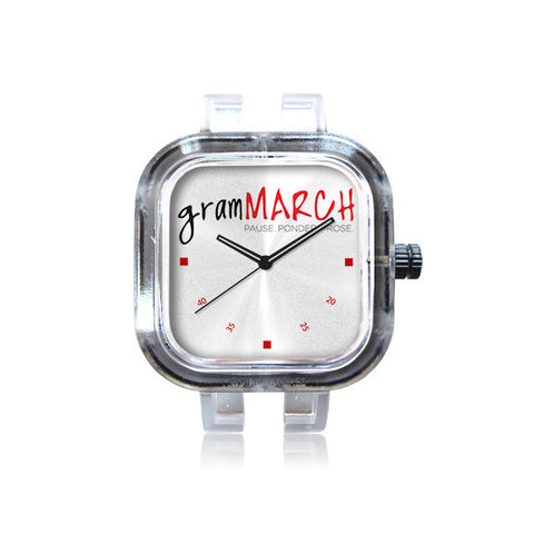 gramMarch Logo watch