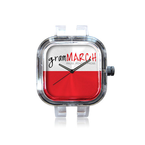 gramMarch Red watch