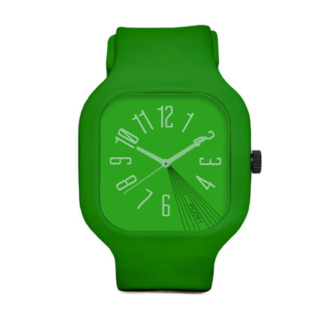 Green Watch with Green Strap and Green Case