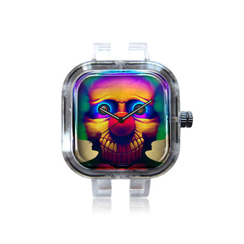 Grin's Psychedelic Clown Watch