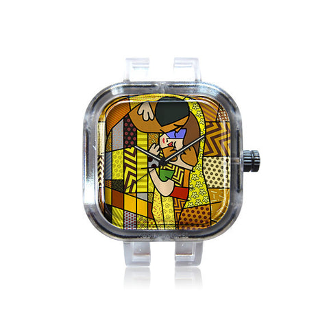 iCanvas Art Kiss Watch
