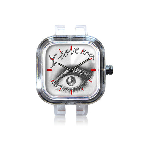 Irene Velez I Love Rock Watch