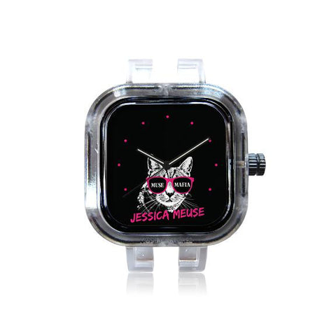 Jessica Meuse Hot Pink MuseMafia Cat Watch