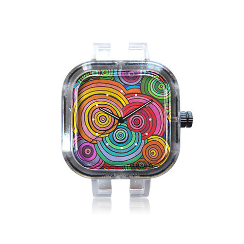 KP Design Circle Drawing Meditation Watch