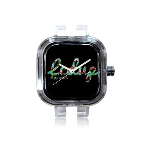 Laced Up Flamingo Watch