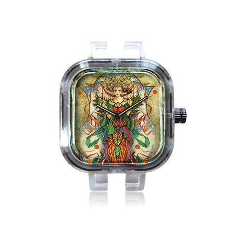 Linda Ravenscroft Green Fairy Watch