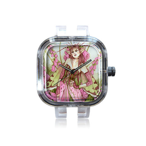 Linda Ravenscroft Pink Fairy Watch