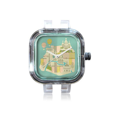 Tiny World Paris Watch