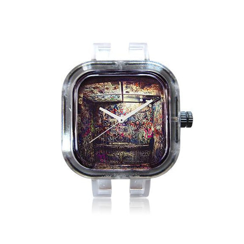 LitGawdz Abstract Graffiti Elevator Watch