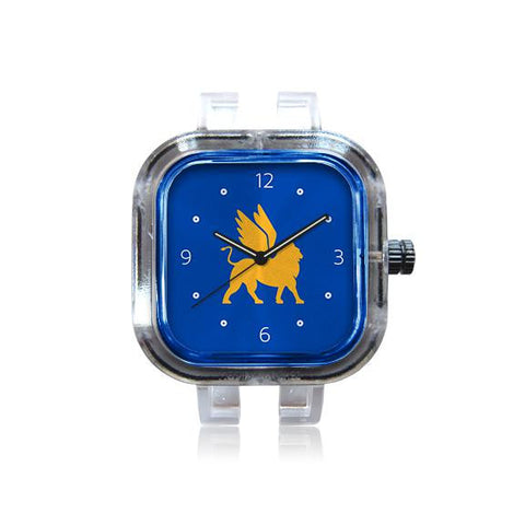 Mark Day Blue Logo Numbered Watch