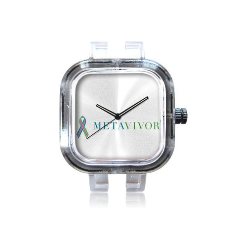 METAvivor Logo Watch