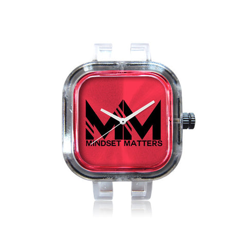 Mindset Matters Logo Red Watch