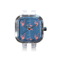 Mrs. Ciccoricco Flamingo Watch