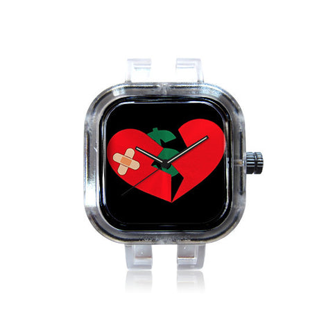 populairboutique heartlogo watch