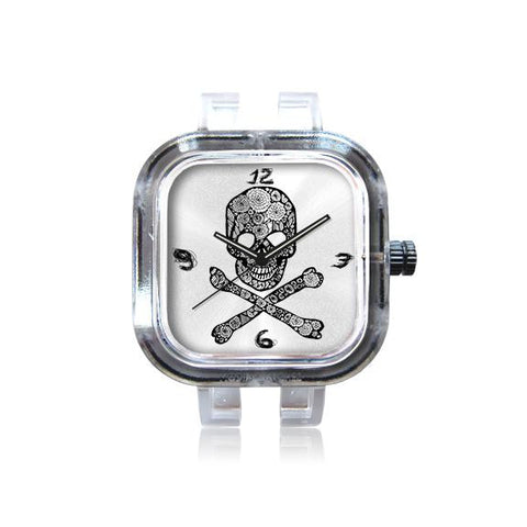 Poz-Art Skull n Roses Watch
