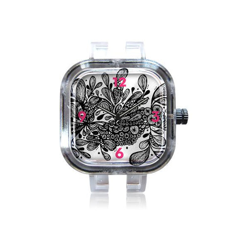 Poz-Art Wild Leaves Watch