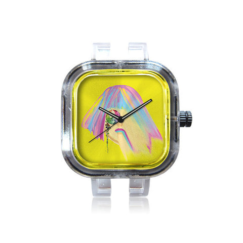 Profumo Designs Yellow Monocle Watch