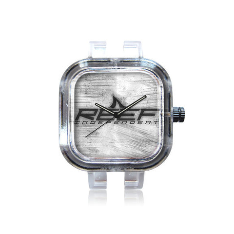 REEF Silver Grunge Watch