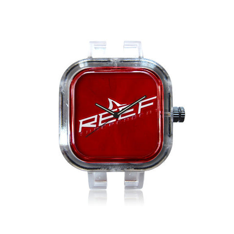 REEF Sleek Red Watch