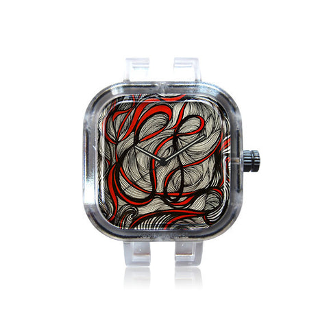 Rockee Whimsy Art Abstract Watch