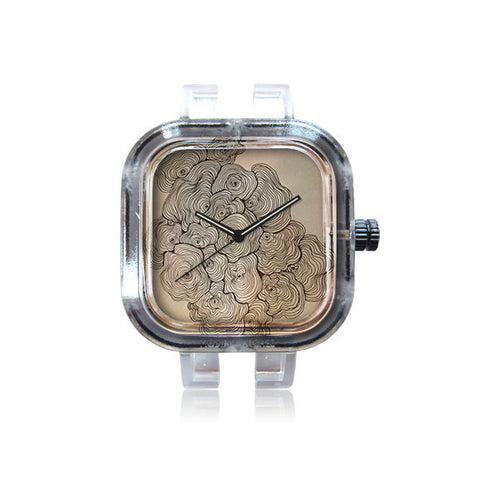 Rockee Whimsy Art Texture Watch