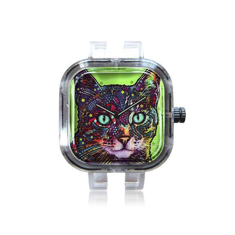 Dean Russo Green Cat Watch