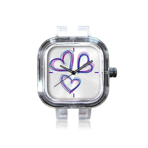 Schiggi Design Three Hearts Club Watch