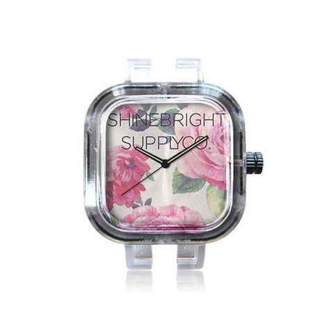 Shine Bright Pink Rose Watch