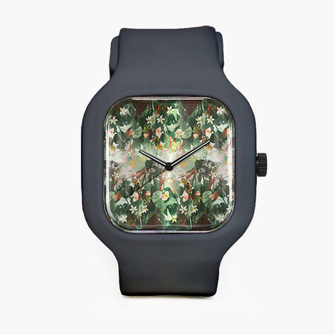 BarroqueFlowers Sport Watch