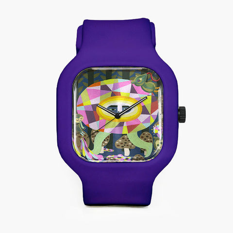 Microchan to Geometric City Sport Watch